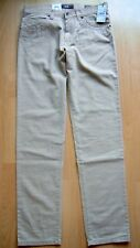 BRAX STRETCH JEANS CADIZ SUN FADE  W 34 L 36 LONG fit STRAIGHT beige NEU