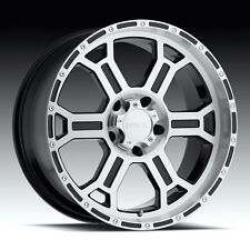 "Set of 4 VTEC Raptor 22"" x 9.5"" Wheels 5-139.7 Dodge Ram Dakota Durango ET18"