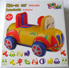 NEW BOXED INFLATABLE RIDE ON CAR BABY TODDLER SIT ON TOY FUN! EDCO