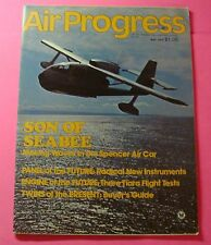 AIR PROGRESS  MAY/1975..SON OF SEABEE: MAKING WAVES IN THE SPENCER AIR CAR