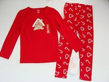 Gymboree Holiday Cozy Cutie Girls Size 5 Gingerbread Shirt Top Leggings NWT NEW