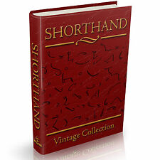 Shorthand Stenography Phonography Tachygraphy Books - 65 Vintage Books on DVD