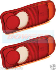 2x VIGNAL LC5 REAR TAIL LAMP LIGHT LENS CITROEN JUMPER DAF LF BOBCAT VOLVO FE FL