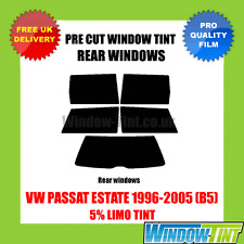 VW PASSAT ESTATE 1996-2005 (B5) 5% LIMO REAR PRE CUT WINDOW TINT