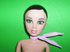 Spin Master LIV Doll Katie Brunette Green Eyes Articulated Tight Joints Nude