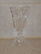 "VAL ST LAMBERT CRYSTAL ESNEUX CORDIAL 3 7/8"" EXCELLENT!"