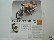 PROTAR DUCATI 750 SPORT YELLOW AND FERRARI 312 T FORMULA ONE F1