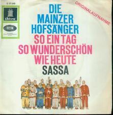"""7"""" Mainzer Hofsänger/So Ein Tag So Wunderschön Wie Heute"""