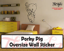 Looney Tunes - Porky Pig Custom Vinyl Sticker