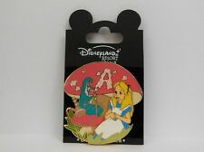 Disney Alice in Wonderland & Caterpillar Smoking a Hookah Letter Series LE Pin
