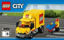 LEGO 60097 City Square LEGO Truck only (BAG 10)