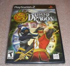 Ps2 Legend of the Dragon video game Factory Sealed