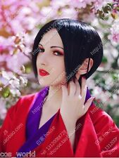 New Wig NANA Osaki Nana Black Cosplay Wig + Free Hair Hairnet