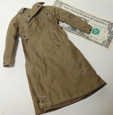 1/6 scale WW2 German Army Wehrmacht Africa Corps Officer trench over coat