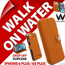 New Walk On Water Drop Off Flip Case for Apple iPhone 6 Plus/6S Plus Stand Folio