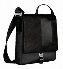 Piquadro Frame black organized shoulder bag w/ mobile case CA1593FR/N