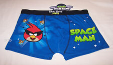 Angry Birds Space Mens Blue Printed Trunk Brief Size L New