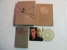 DON HENLEY INSIDE JOB PROMO CD VHS LYRIC BOOK CUSTOM CARDBOARD PACK BOX EAGLES