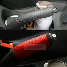 Sports Parking Hand Brake Boot Leather Cover Red For KIA 2010-2012 Cerato Koup