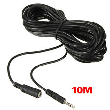 32Ft/10M 3.5mm IR Repeater Extension Cable Extender Wire for Infrared Receiver