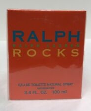 ROCKS RALPH LAUREN WOMEN 3.4 oz 100ml  EDP SPRAY New Sealed Box