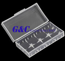Hard Plastic Battery Protective Storage Boxes Cases Holder For 18650 Battery