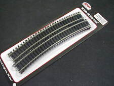 "Atlas HO-scale Code 100 Nickel Silver Snap-Track 22"" Full Curves (6) #836"