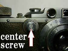 Center screw for Leica 3, 3a.3b slow dial repair parts