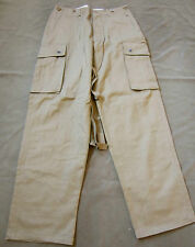 g78c WWII US AIRBORNE PARATROOPER STANDARD UNREINFORCED M42 JUMP TROUSERS-MEDIUM