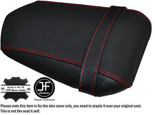 GRIP CARBON RED STITCH CUSTOM FITS YAMAHA 1000 YZF R1 04-06 REAR SEAT COVER