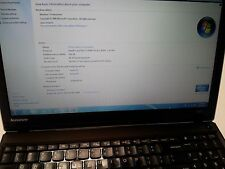 "Lenovo ThinkPad Edge E530 2.3GHz Core i3-2350M, 4GB RAM, 320GB HDD, 15.6"", No OS"