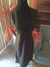 Brown 60's Mod Jumper Dress Vintage ModCloth Pinup Girl Rockabilly