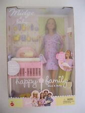 2002 Mattel Happy Family Midge & Baby Dolls #56663 NRFB