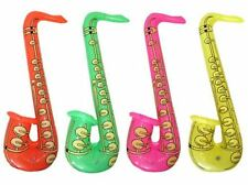 4 Inflatable Saxophone Party Accessories / Hen Stag Fun / Fancy Dress