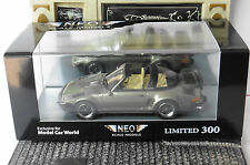 PORSCHE 930 TURBO SE TARGA FLASHNASE METAL GREY 1987 NEO 43883 1/43 LIMITED