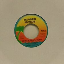"THE GIBSON BROTHERS 'QUE SERA MI VIDA' UK 7"" SINGLE #2"