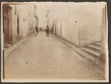 ALGERIE LAGHOUAT PHOTO LA RUE PELISSIER 1904