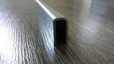 Edelstahl U Profil Winkel Leiste für 6mm Glas Verbinder Einfassprofil VA TOP