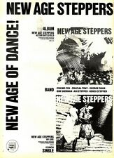 25/7/81PGN34 ADVERT: NEW AGE STEPPERS ACTION BATTLEFIELD & MY LOVE 15X11