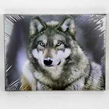Wolf Painting Wall Art LED  Home Decoration