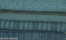 """HAND DYED RUG HOOKING WOOL Mill-Dyed ~ """"ALL AMERICAN BLUE JEANS"""""""