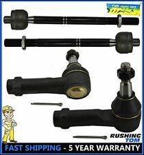 4Pc Kit Front Left And Right Inner & Outer Tie Rod Ford F150 Lincoln Mark Lt 2WD