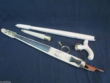Copy of old unfinished Walking Stick Cane Violin Pochette Canne -Violon