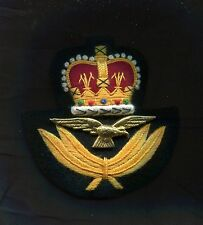 British RAF Officer Cap Badge copy