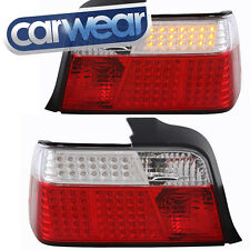 BMW E36 3-SERIES SEDAN 4DR CLEAR RED LED TAIL LIGHT 318i 320i 323i 325i 328i M3