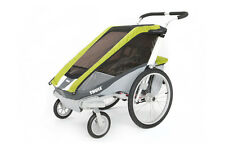 Thule Chariot Cougar 1 AVOCADO With Strolling Kit New !