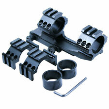 """Tactical 1"""" - 30mm PEPR style Cantilever Rifle Scope Mount for Picatinny Rail"""