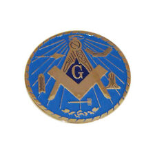 Self Adhesive Masonic Emblem Freemason Mason Car Window Office Sticker Motif