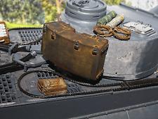 Rommelkiste Rommel Kiste Kasten Zubehör Umbau f Heng Long RC Tiger I Panzer 1/16