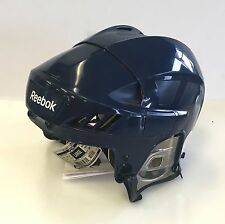 New Reebok 4K NHL/AHL Pro Stock/Return navy size medium M ice hockey helmet blue